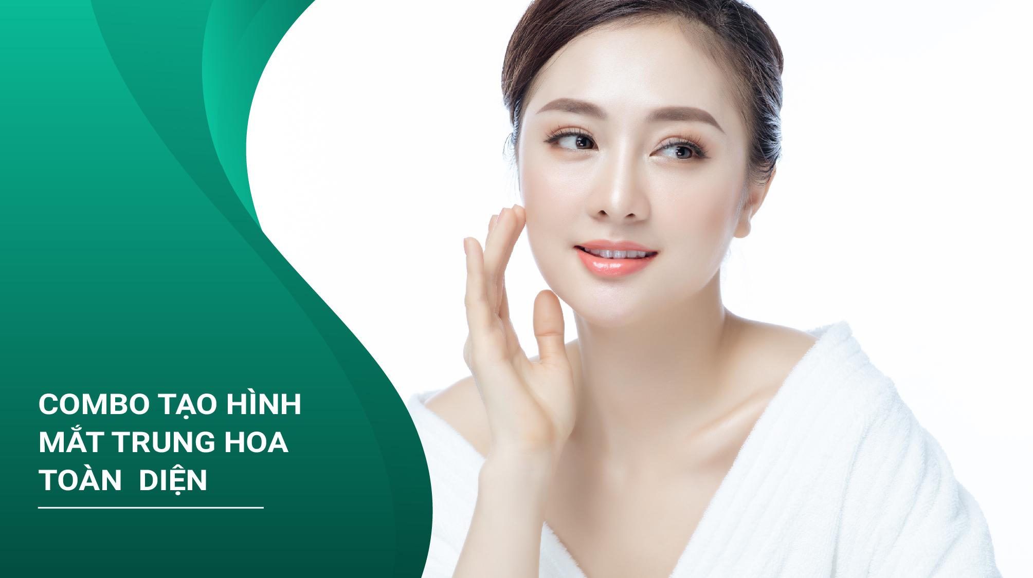 Combo Tạo Hình Mắt Trung Hoa
